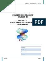 Cuaderno de Trabajo Cálculo II Unidad i
