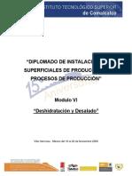 Módulo VI.deshidratación y Desalado. Manual Completo
