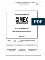 11.- Plan de Emergencias
