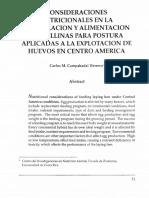 Consideraciones nutricionales en la formulación y alimentación de gallinas consideradas apra postura aplicadas a la explotación de Centro América.pdf