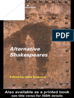 Alternative Shakespeares