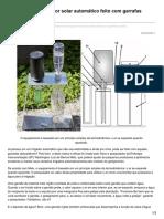 Engenhariae.com.Br-Brasileiro Cria Irrigador Solar Automático Feito Com Garrafas Usadas