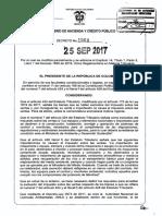 Decreto 1564 Modificación DUR