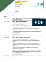 Cronograma de Actividades_II Foro de Lenguajes e Interculturalidad