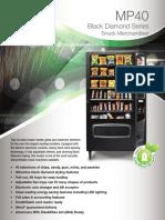snack vending machines gens40bezelvm