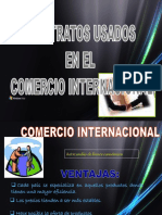 Tipos de Contratos internacional