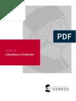 Literatura y Creacion