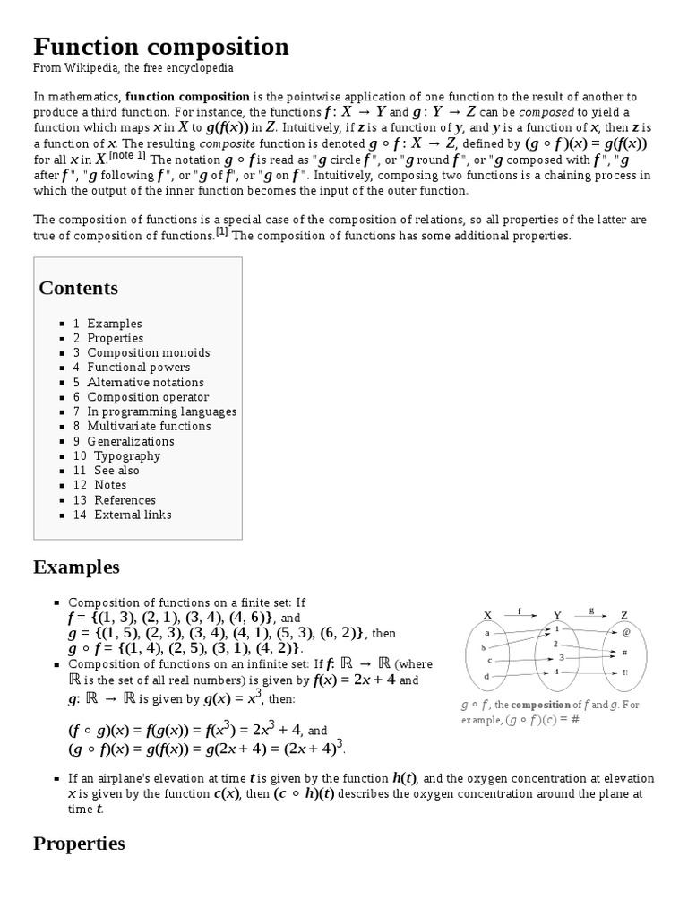 composition of functions one to one and onto Inside Composite Function Worksheet Answers