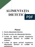 ALIMENTAŢIA-DIETETICĂ