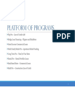 platform programs
