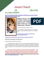 Corporate Prayer Intercession