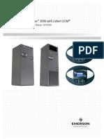 Liebert Challenger 3000 With Liebert ICOM - Operation & Maintenance Manual