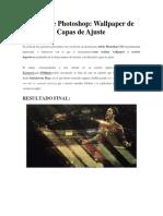 Wallpaper de Fútbol Con Capas de Ajuste