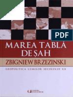 Zbigniew Brzezinski - Marea Tabla de Sah