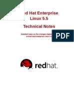 Red Hat Enterprise Linux 5.5 Technical Notes en US