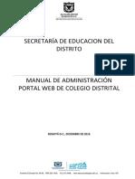 Manual Administracion Portal Web Vr3