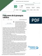 30-09-17 Fake news de la jerarquía católica - El Diario de Coahuila