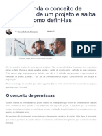 Entenda o Conceito de Premissas de Um Projeto e Saiba Como Defini-las _ IBC Coaching