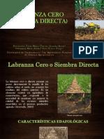 Labranza Cero (Siembra Directa) Exposicion