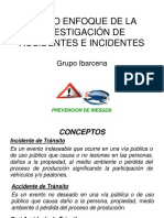 Analisis e Investigacion de Accidentes e Incidentes