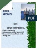 6. El Estudio de Impacto Ambiental y Sus Clases [Modo de Com