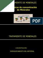 4.0 Tratamiento de Minerales