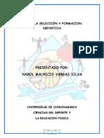Cartilla Final Seleccion y Formacion Harold Vargas