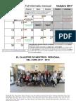 Calendari octubre 2017