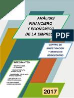 Análisis Financiero y Económico Del Centro de Investigación y Servicios SERVICENTRO FINAL