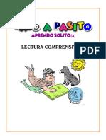 LECTURAS DE COMPRENSIÓN PARA LOS ALUMNOS DE PRIMERO Y SEGUNDO GRADO