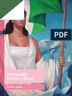 Formacion Civica y Etica Libro de Texto Primer Grado Libro de Texto  - VF