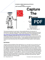 robotic capture the flag competition rules