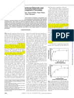 TILMAN Et Al 1997 - The Influence of Functional Diversity and Composition on Ecosystem Processes