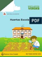 Huertas Escolares - Guia Para El Docente