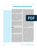 IR- 051 Standardized Stimulate Patient