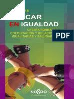 Oferta Formativa Educar en Igualdad 2017-18