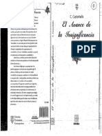 Castoriadis-El Derrumbe de La Autorrepresentacion de La Sociedad