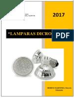 Informe T2 Lamparas Dicroicas