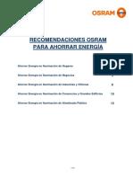 OSRAM Recomendaciones Ahorro de Energia