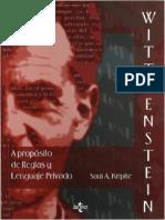 Kripke-Wittgenstein y La Idea de Un Lenguaje Privado