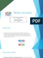 Presentación Redes Sociales