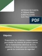 Sistema de Puesta a Tierra Subestaciones Electricas
