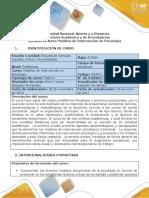Syllabus Del Curso Modelos de Intervención en Psicología