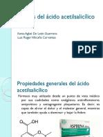 Síntesis Del Ácido Acetilsalicílico