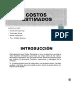 COSTOS-ESTIMADOS