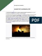 Costos Ambientales de Una Industria Dcementera