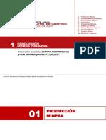 Boletin Estadistico Mineria - Estamin Diciembre 2016