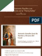Unidad 3 Don Antonio Nariño - Valentina Maya