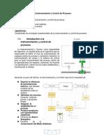 1 Introducción a La Instrumentación y Control de Procesos