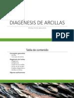 Diagénesis de Lutitas